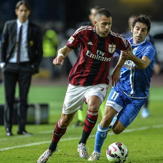 Milan – Empoli 1-1, fischi a San Siro