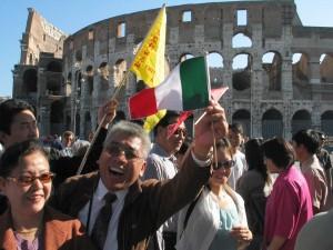 turisti cinesi roma