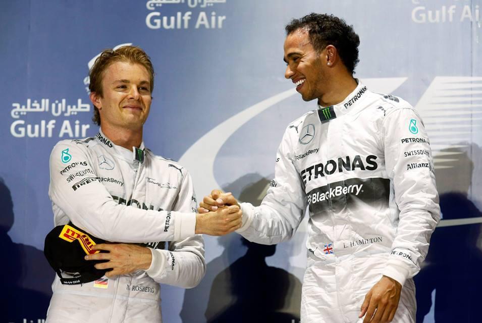 Al via la stagione di F1 2015, Mercedes in prima fila