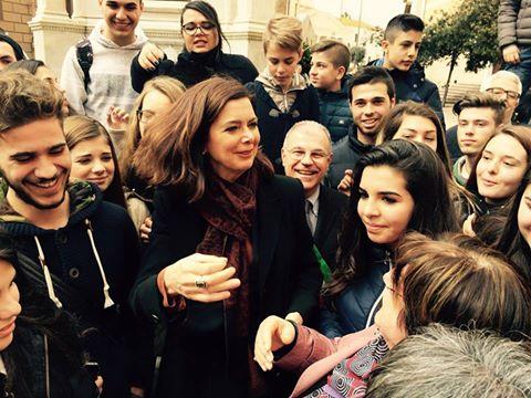 A Oristano la seconda tappa della visita di Laura Boldrini nell'isola