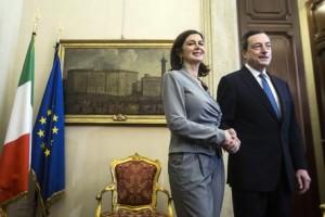 Mario Draghi at Italian Chamber of Deputies