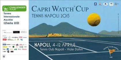 """Arriva il grande tennis a Napoli. Ad aprile il via alla """"Capri watch Cup"""""""