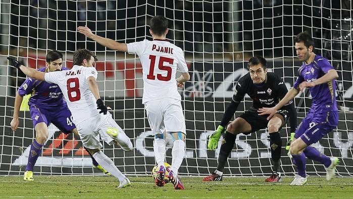 Parità nel derby di Europa League tra Fiorentina e Roma