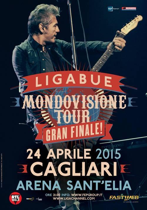 Ligabue sold out a Cagliari annuncia la seconda data, il 24 Aprile