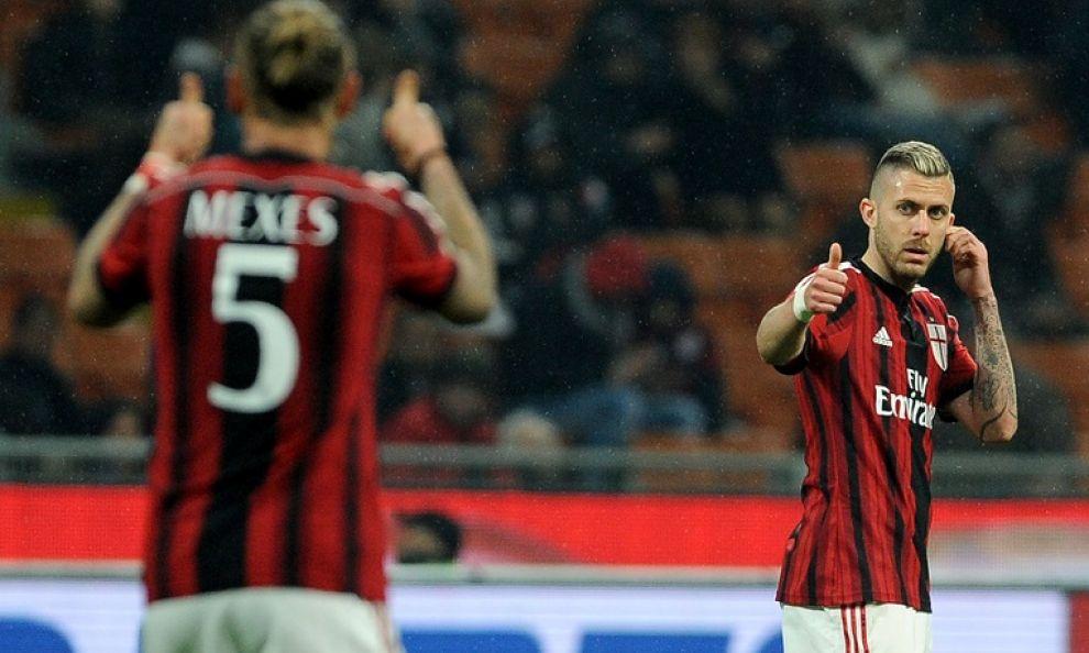 Menez salva Inzaghi, Milan – Cagliari finisce 3-1