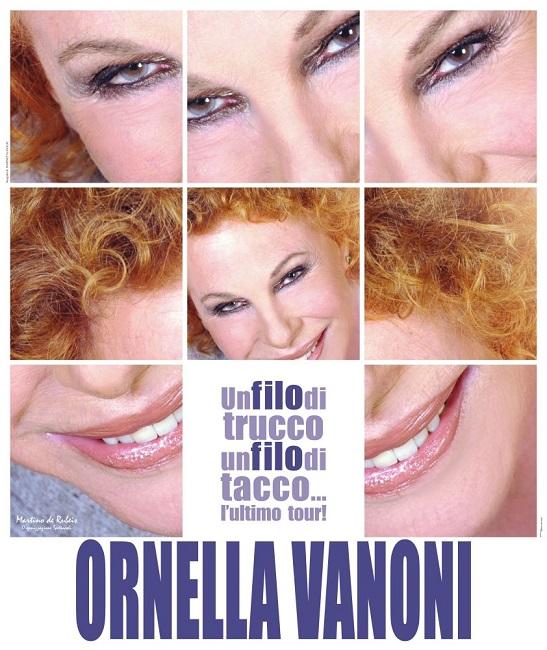 """""""Un filo di trucco, un filo di tacco …l'ultimo tour"""", lo show che ripercorre il mito di Ornella Vanoni"""