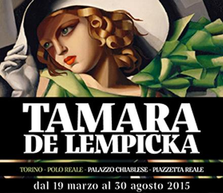 Tamara de Lempicka e la sua Art Decò a Torino