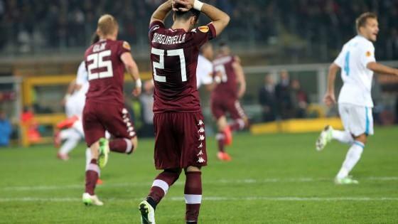 Torino-Zenit 1-0 ma non basta, Granata fuori tra gli applausi