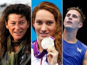 I tre  sportivi che hanno perso la vita nell'incidente (Foto@Corriere della Sera)