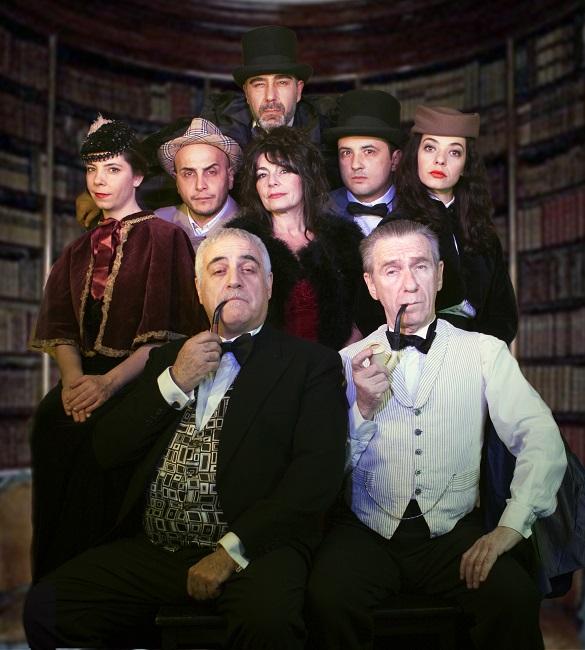 """""""Un Natale Rosso Sherlock"""" al Teatro dei Conciatori di Roma"""