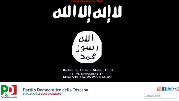 Isis: attacco hacker al sito del Pd Toscana, indagano Digos e Polizia Postale