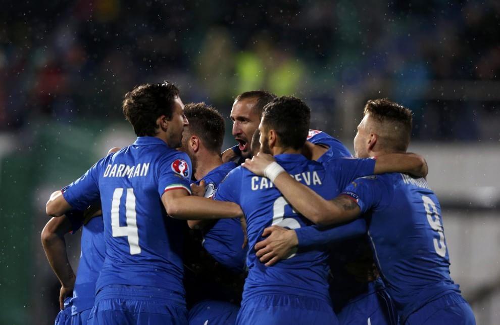 Un gol di Eder salva l'Italia, a Sofia è 2-2 in rimonta