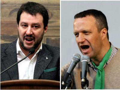 """Caos Lega, scontro Salvini-Tosi. Il segretario: """"O con Zaia o fuori dal partito"""". E intanto incontra Berlusconi"""