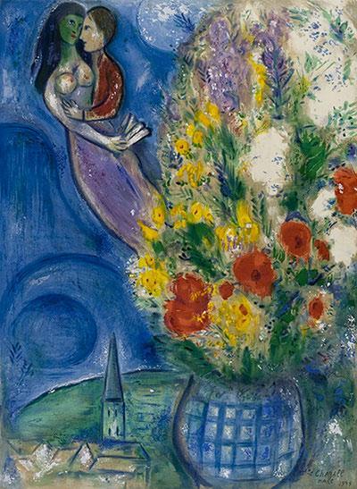 «Solo l'amore mi interessa.» A Roma una mostra per raccontare Marc Chagall