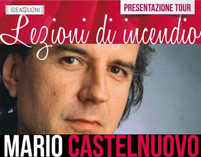 """Mario Castelnuovo """"scalda"""" lo Zelig di Milano con """"Lezioni di incendio"""""""