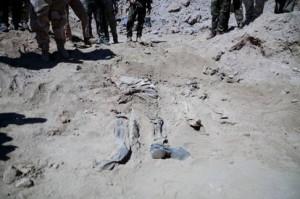 Uno dei corpi ritrovati Foto@CNN