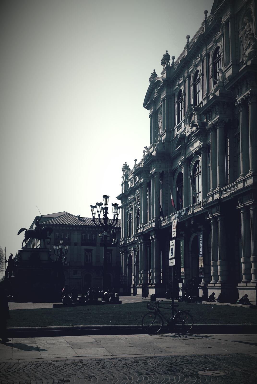 Vista di Palazzo Carignano