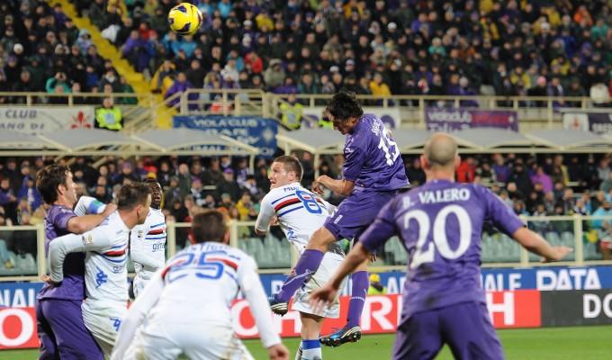 Fiorentina batte Sampdoria 2 a 0 e conquista il 4° posto