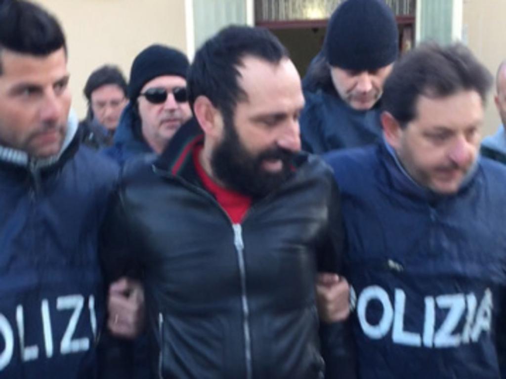 Arrestato a Regalna il boss latitante Sebastiano Mazzei