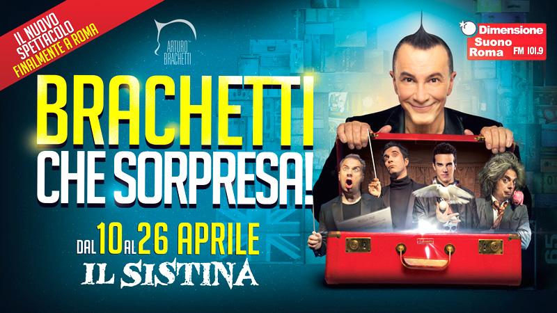 Brachetti che sorpresa, il nuovo show del trasformista torinese arriva al Sistina