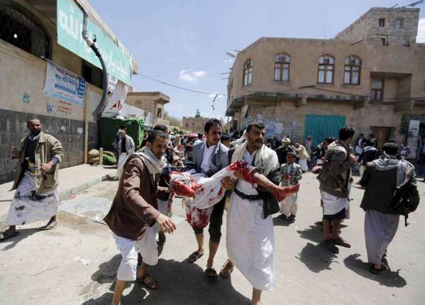 YEMEN: oltre 500 morti dall'inizio delle violenze, 74 sono bambini
