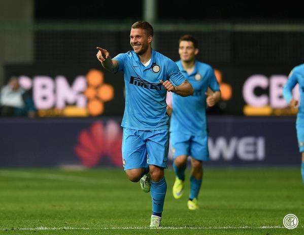 L'Inter rivede l'Europa, Icardi e Podolski stendono un'ottima Udinese