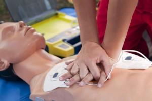 CPR_compression_training_
