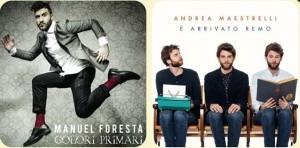 Manuel Foresta e Andrea Maestrelli presentano i nuovi album: Colori Primari e  E' arrivato Remo.