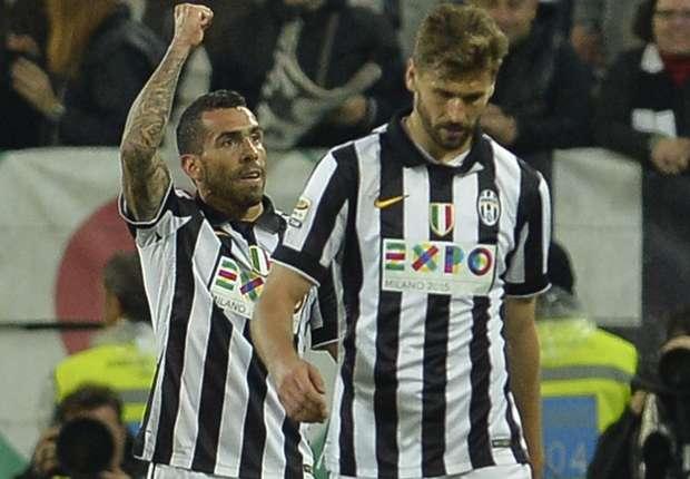 Continua la marcia della Juventus verso lo scudetto: Tevez e Llorente stendono la Fiorentina