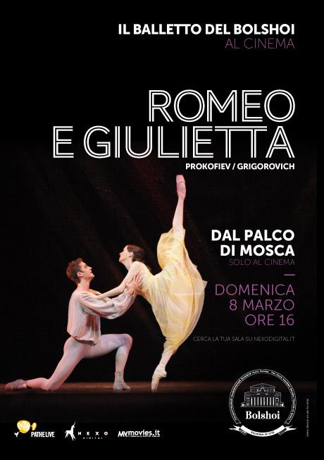 Il Balletto del Bolshoi al cinema