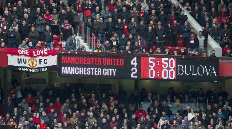 Aguero non basta, all'Old Trafford vince lo United