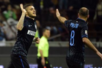 Inter – Roma 2-1, Icardi affonda i giallorossi