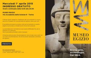 museo egizio apertura