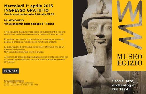 La resurrezione del Museo Egizio