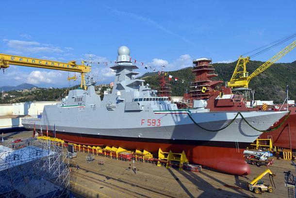 Fincantieri e Finmeccanica: 7 nuove navi alla Marina Militare, la prima nel 2019