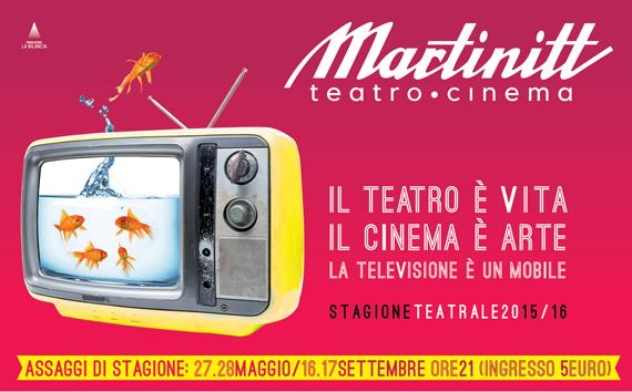Teatro Martinitt, il teatro è vita e abbonarsi è un'ottima prevenzione