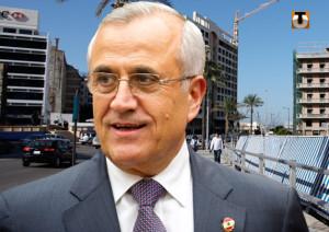 L'ex presidente libaense Michel Sleimane Foto: republicoftogo