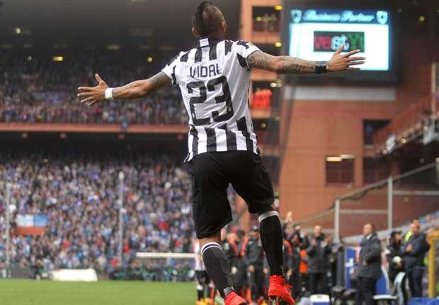 Juventus campione d'Italia: Vidal incorona i bianconeri