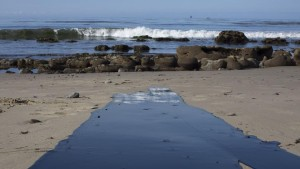 Il petrolio che raggiunge l'Oceano Foto David NC New