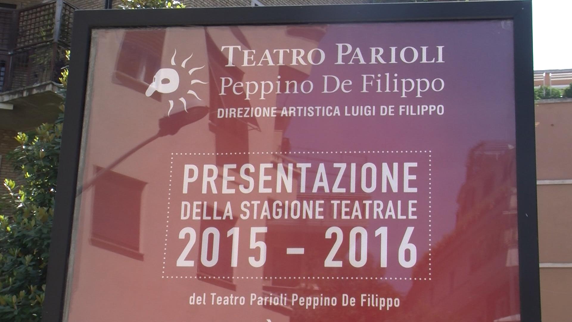 La nuova stagione 2015-2016 al teatro Parioli di Roma