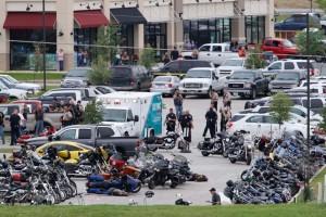 L'agghiacciante luogo dello scontro Foto: Waco Tribune