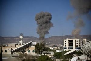 Yemen - Scontri via terra Foto: Yahoo News