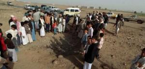 Alcuni delle migliaia di sfollati Foto: Reuters