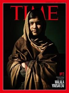 La copertina del TIME Magazine consacrata alla lotta di Malala