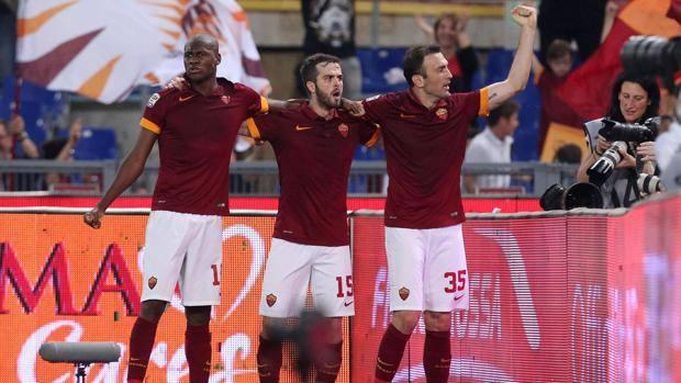 La Roma vince in rimonta e rimane al secondo posto