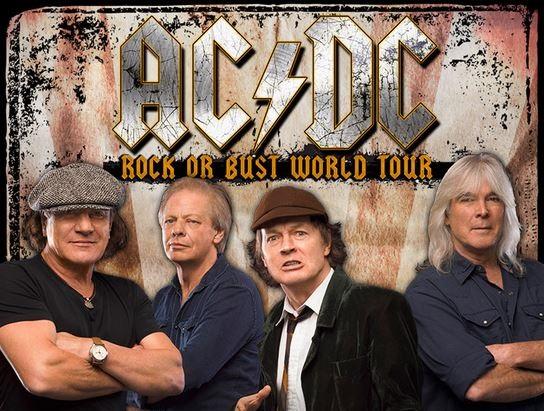 9 luglio 2015. Si avvicina l'unica data italiana degli australiani AC/DC