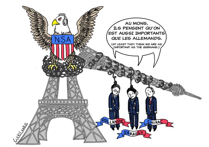 Nsa, spiati gli ultimi tre presidenti francesi