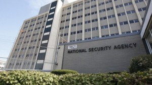 """FILE - This Sept. 19, 2007 file photo shows the National Security Agency building at Fort Meade, Md. When Edward Snowden joined friends in his late teens to edit a website built around a shared interest in Japanese animation, they chartered the venture from an apartment in military housing at Fort George G. Meade, the 8-square-mile installation that houses the NSA center dubbed the Puzzle Palace and calls itself the """"nation's pre-eminent center for information, intelligence and cyber."""" (AP Photo/Charles Dharapak, File)"""