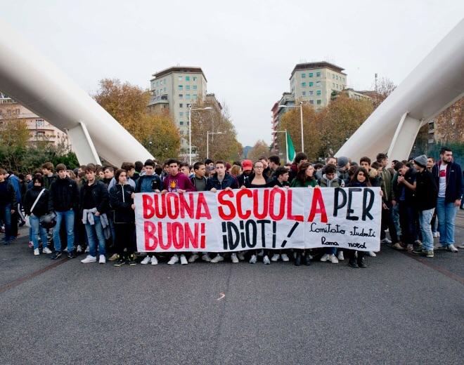 """Scuola, """"non daremo tregua a Renzi"""""""