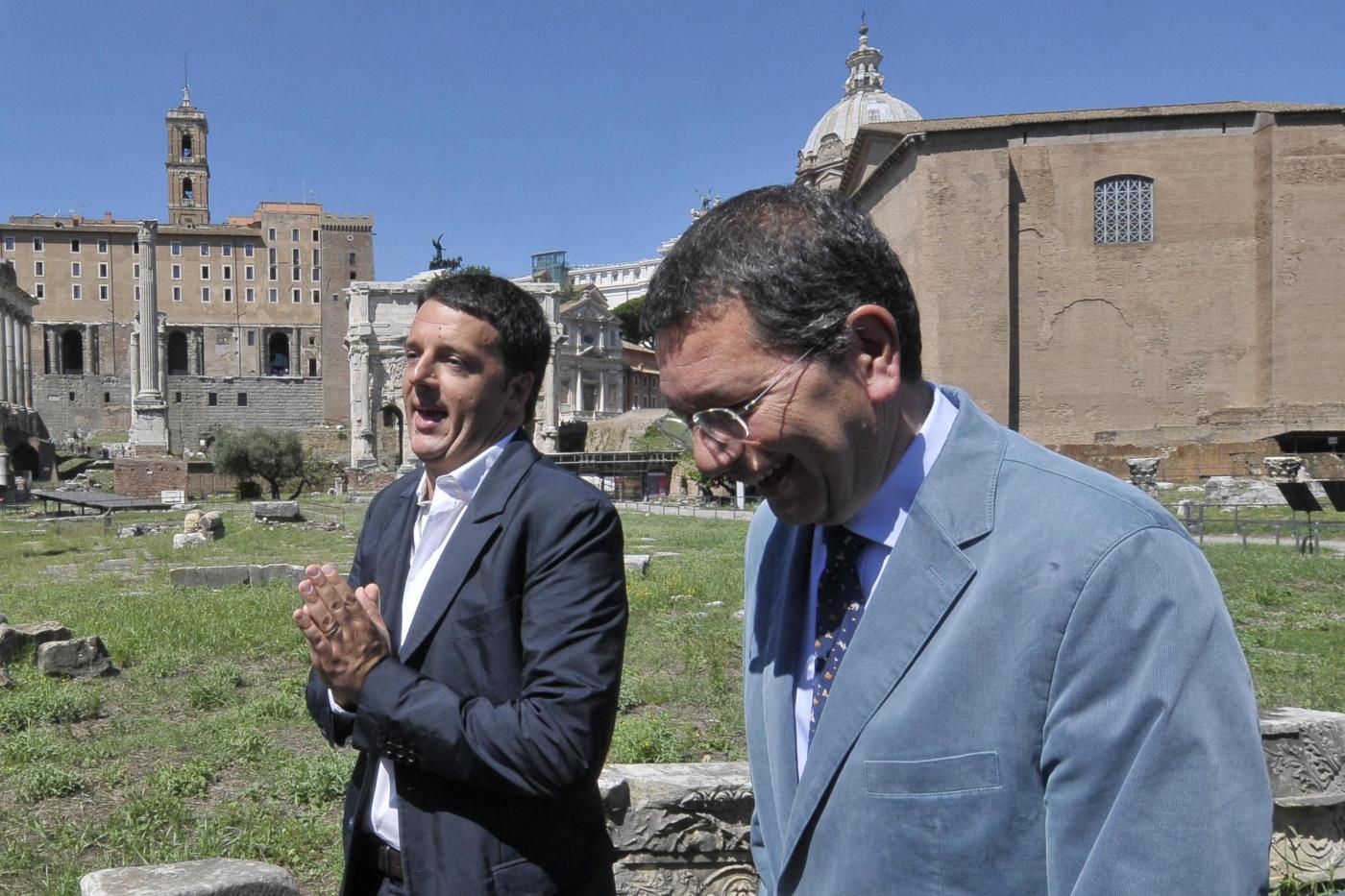 Il Premier: «Con Renzi 2 non si vince, devo tornare il Renzi 1»